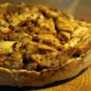 Apfel Kuchen mit Kokosöl